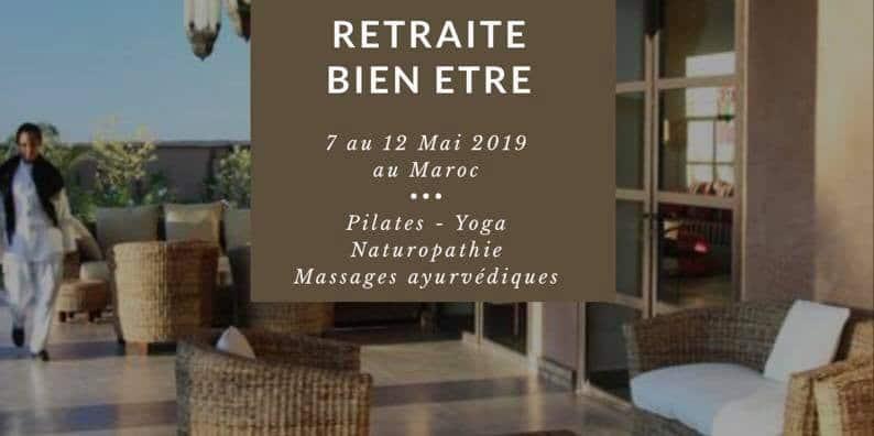 7 au 12 mai 2019 – Séjour bien-être Marrakech