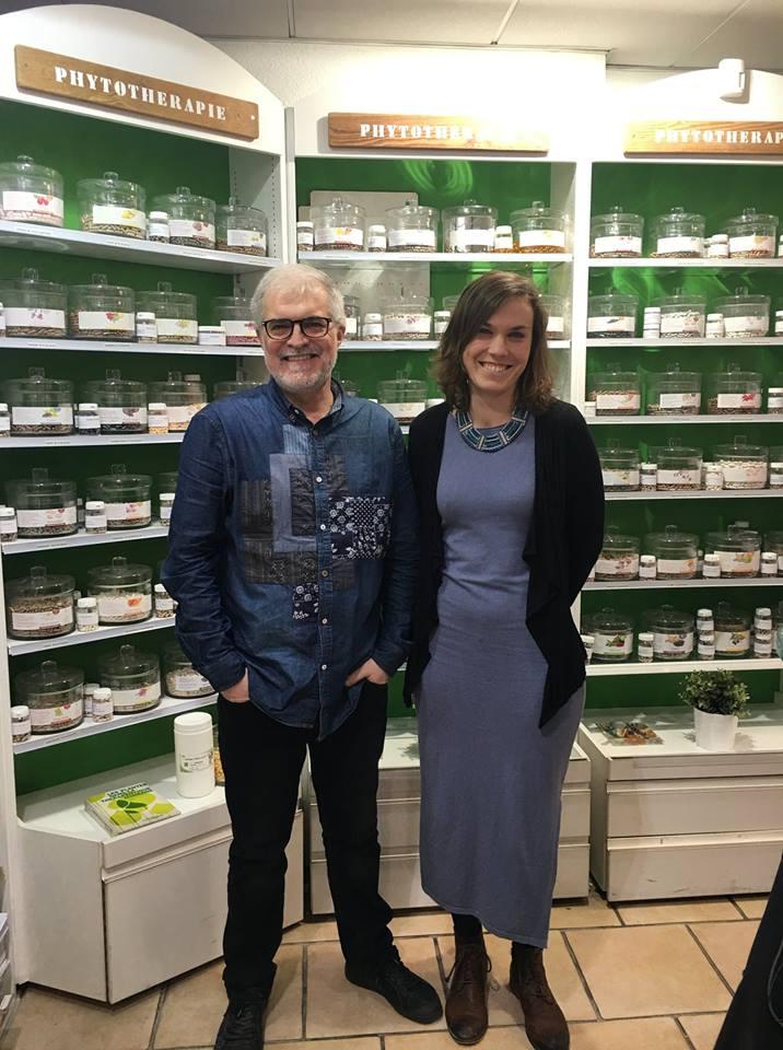 """Article réalisé par le laboratoire Herbiolys – février 2019 – """"Naturopathie et holistique à la pharmacie d'Italie avec Caroline Marie"""""""