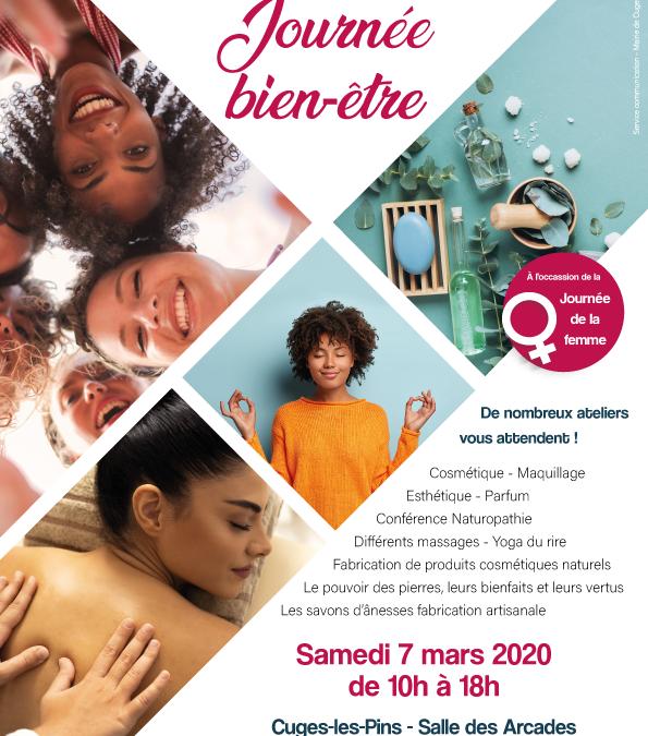 Samedi 7 mars – Journée du bien-être Cuges-les-Pins