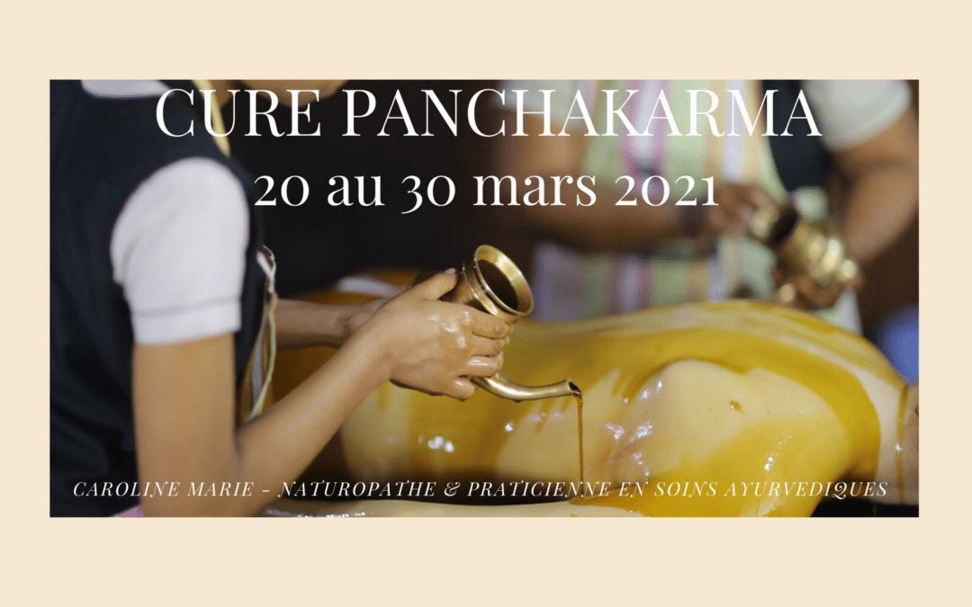 20 au 30 mars 2021 – Cure Panchakarma – Kerala (Inde)